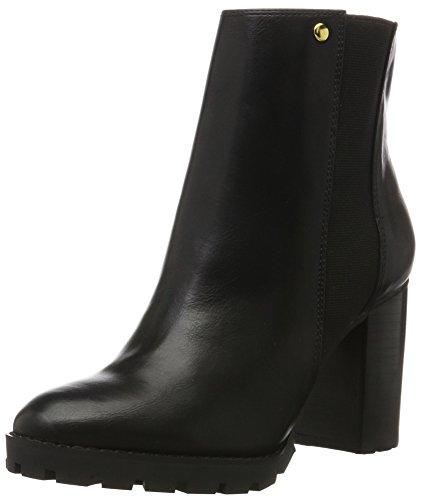 Buffalo Shoes Damen B118A-54 P1735A PU Kurzschaft Stiefel, Schwarz (Black 01), 38 EU