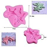 MoonyLI 3D Fisch geformt Silikonform, Silikon Fondant Formen Tier Goldfisch Praline Zucker Gummi Kuchen Dekoration Werkzeug