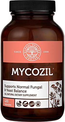 Global Healing Mycozil Vegan Supplement Supports Detoxification for Natural Candida Cleanse product image