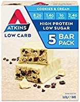 Atkins Low Carb Protein-Rich Bar 30g, Pack of 5