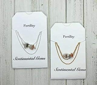 Fertility Manifestation Stones Necklace/Bracelet/Anklet: crystals for fertility