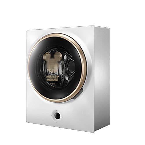 WNN-U 3 kg Mini Wall Lavadora - completamente automático compacto lavadora secadora de apartamento, hotel, dormitorio, RV, cocina (blanco) [energética A ++] WNN-U