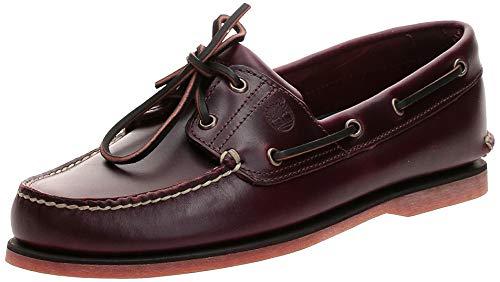 Timberland Men's Classic 2-Eye Boat Shoe, Rootbeer/Brown, 10 M