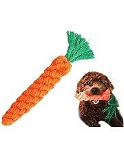 Zabawki dla psów bawełna do żucia lina zabawka stomatologiczna czyszczenie zębów dla małego psa szczeniaka gryząca marchewka do 5Five