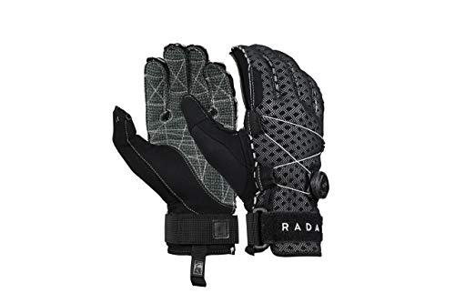 Radar Vapor-K Boa Inside-Out Waterski Glove - Black/Grey Ariaprene - M