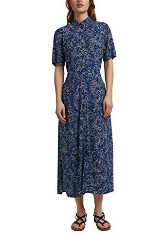 ESPRIT Damen 041EE1E313 Kleid, 403/NAVY 4, 38