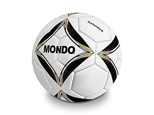 Mondo Kaleidos 2.0 - Balón de fútbol Profesional, 450 g, Color Blanco y Negro - 13839