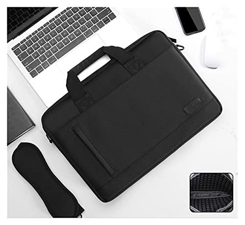 Fait Adolph Laptoptasche Laptop-Tasche-Hülsenfall-Schulterhandtasche Notebook-Taschen-Aktentaschen for 13 14 15 15.6 17-Zoll-MacBook for Air Pro HP for Huawei for Asus for Dell Leicht und tragbar,