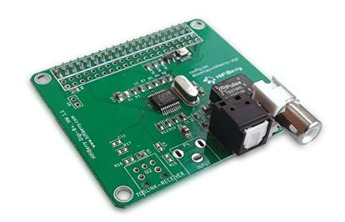 HiFiBerry Digi+ Standard Version - Digitale Soundkarte für Raspberry Pi 2 Modell B/B+ / A+ mit Toslink und Coax Anschluss