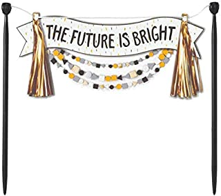 The Future is Bright Cake Banner