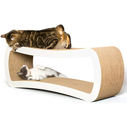 PetFusion Jumbo Cat Scratcher Lounge