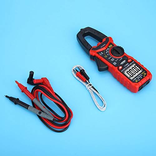Amp AC DC Mini Digital Clamp Meter Resistance 6000 Counts Standard per Home Office per interni Outdoor per la misurazione della tensione(HT206D)