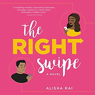 The Right Swipe audiobook cover art