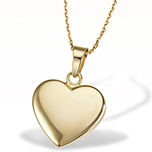 Goldmaid Damen-Halskette Herz 375 Gelbgold Herzkette Schmuck
