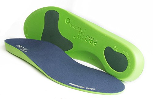 (3 4 UK) - Orthotic insoles Full length with arch supports, metatarsal and heel Cushion for plantar fasciitis treatment