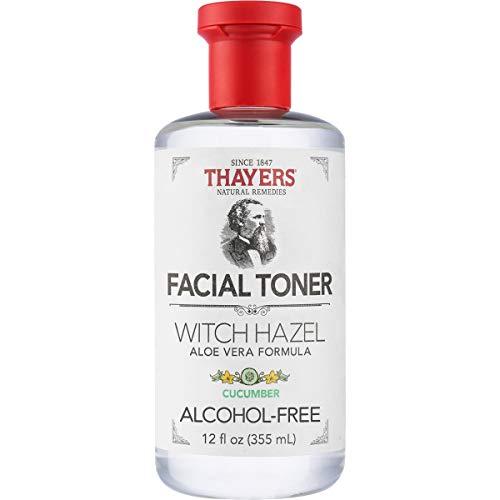 THAYERS Alcohol-Free Cucumber Witch Hazel Facial Toner with Aloe Vera Formula - 12 oz