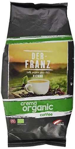 Der-Franz Crema-Bio-Kaffee UTZ, ganze Bohne, 1000g