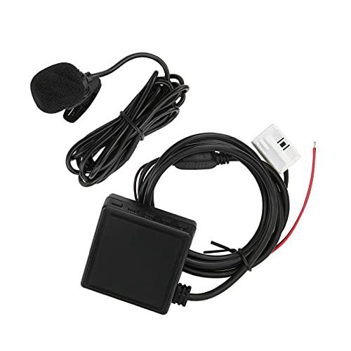 Adaptador AUX, conector de audio para automóvil, transmisión de música de alta eficiencia clara, versión 5.0 para automóvil