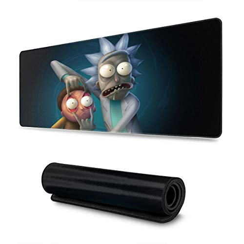 Rick/&Morty Waterproof Office Mouse Pad Round Mouse Mat 7.9 Diameter Inch 1 PCS