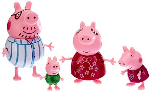 Giochi Preziosi Peppa Pig Set Famiglia Refresh, PPC75000