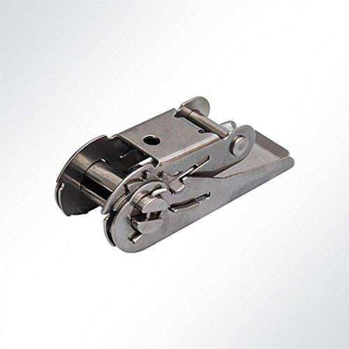 LYSEL Edelstahl-Ratsche, (B) 25mm in Grau (1 Stück) 800 Kg