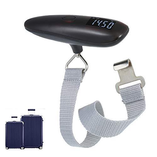 Digital Gepäck Scales, 110LB Gepäck Hängewaagen mit Backlit LCD-Anzeige, Hand Reise-Koffer-Waage für Heim Post Reisen
