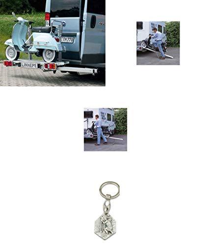 Zisa-Kombi Motorradträger Ducato X250/290/Peugeot Boxer/Citroen Jumper ab Bj.07 (93298846675) mit Anhänger Hlg. Christophorus