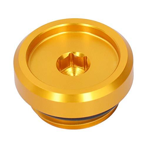 Cubierta de llenado de Aceite Tornillo Accesorio Accesorio Accesorio Piezas Ajuste para YZF  R6S 2006  2010 (Oro)
