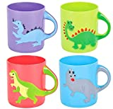 Rhode Island Novelty Dinosaurs Mugs Assorted Colors and Designs One Dozen