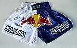 mmasport Muay Thai - Pantalones cortos de boxeo, kick boxing, MMA, satinados, L