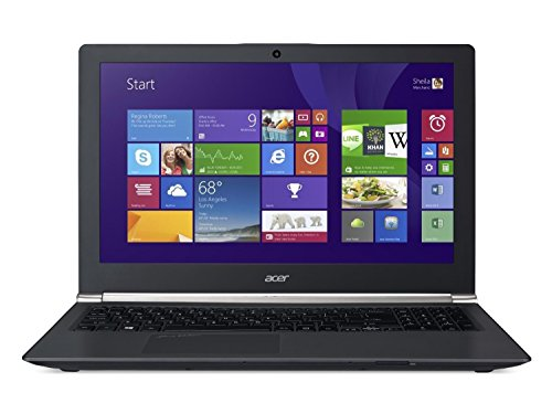 Acer Aspire VN7 15.6-Inch Notebook (Black) - (Intel Core i7-4720HQ 2.6 GHz, 8 GB RAM, 1 TB HDD, 8 GB SSD, LAN, WLAN, Bluetooth, Webcam, Nvidia Graphics, Windows 8.1)