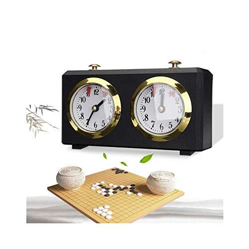 Temporizador de ajedrez, Reloj de ajedrez analogico profesional, temporizador de cuenta atrás, reloj internacional de ajedrez Reloj competición profesional