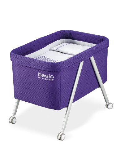 Interbaby Basic – Berceau avec vestidura Gris/lilas