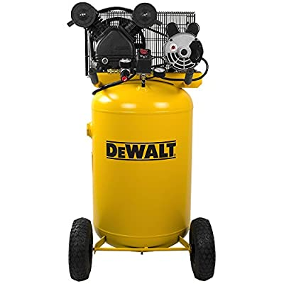 DeWalt DXCMLA1683066 1.6 HP 30-gallon Single Stage Oil-Lube Vertical Portable Air Compressor by MAT Holdings, Inc.