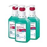 3x 500 ml Schülke Desderman® Pure Hyclick Händedesinfektionsmittel Desinfektionsmittel
