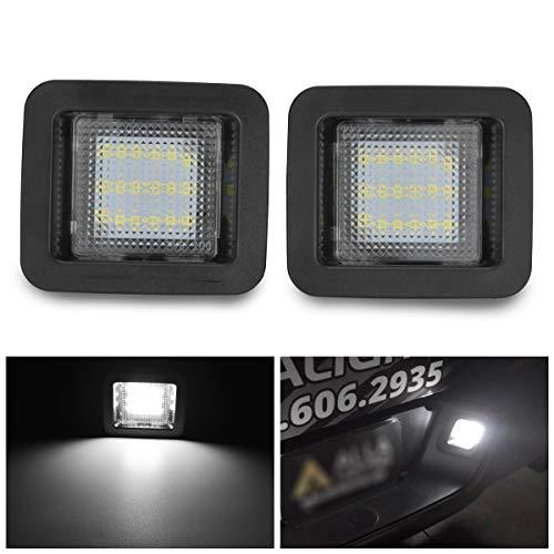 Katur LED kentekenplaatverlichting complete vervanging diamant wit 6000 K extreem helder voor Ford Raptor Truck Ford F-150 2015-2019