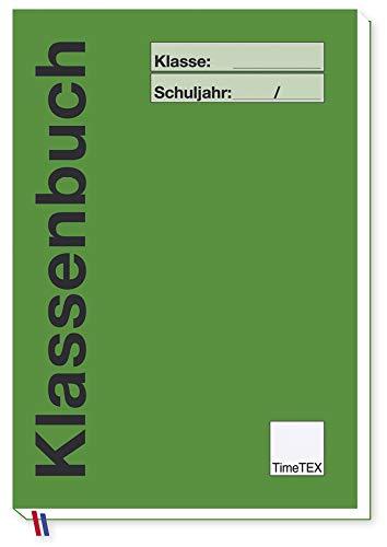 TimeTEX Klassenbuch A4 Plus - Grün - 10734