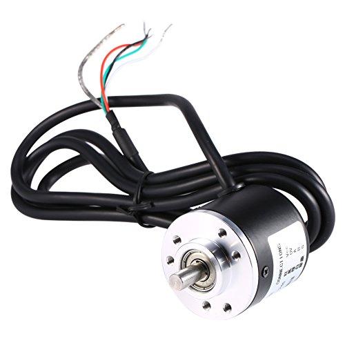 600P / Rロータリーエンコーダー 5V‑24V AB 2‑フェーズシャフト6mm 光電インクリメンタル回転エンコーダ