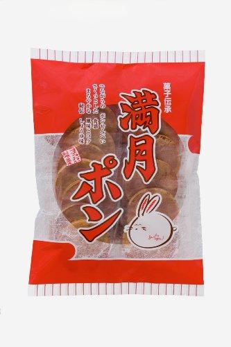 松岡製菓 ビッグサイズ満月ポン 25枚