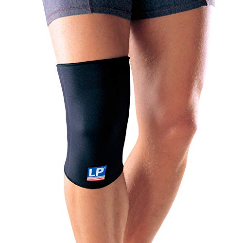 LP Support 706 Basic Kniebandage, Größe:XXL, Farbe:schwarz
