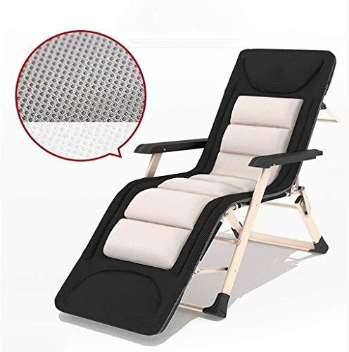 JDK Sun Lounger Leisure Chair with Pillows Reclining Garden Chair Deck Chair Zero Gravity Patio Adjustable Folding Reclining for Outdoor Beach with Cushions Sun Loungers (Size 67cm),67cm