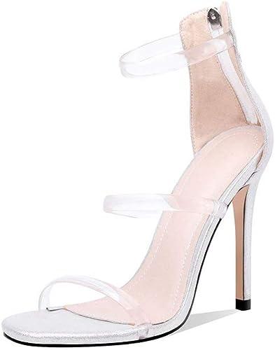 femmeschaussures femmeschaussures Sandales Femmes, Chaussures de Mode pour Femmes avec Ultra Haut Talon Sandales marée 34-46,C,42