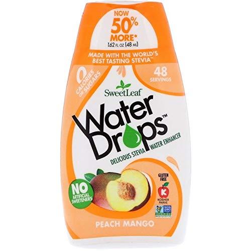 SweetLeaf–Wasser Tropfen Mango Peach–2,1Oz.