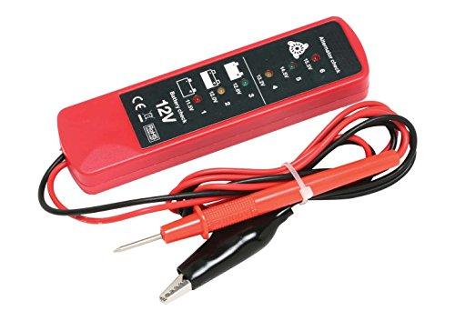Hilka herramientas 83610502comprobador de batería y alternador