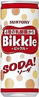 サントリー ビックル ソーダ 250ml缶×30本入