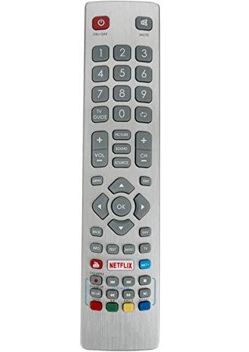 ALLIMITY SHWRMC0115 Control Remoto reemplazado por Sharp Aquos UHD 4K Freeview TV LC-32HG5141K LC-40UG7242K LC-40UG7252E LC-32HG5341K LC-40FG5242E LC-40FG5342E LC-40UI7552K LC-40UG7252K LC-40UI7352E