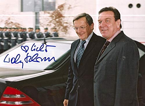 Wolfgang Schüssel original Autogramm/Autograph/signiert
