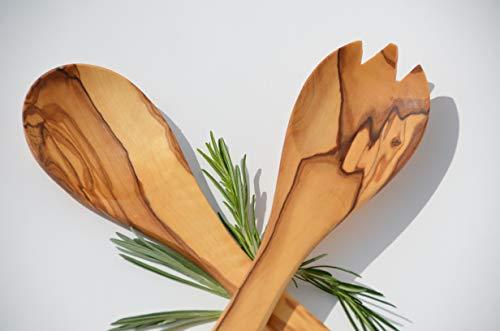 Figura Santa B-Ware Primavera - Cubiertos para ensalada (madera de