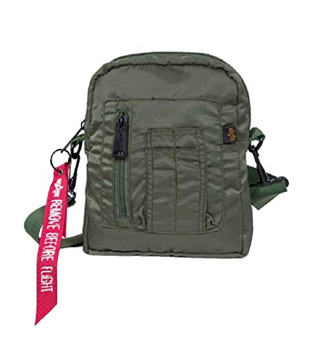 Alpha Industries Crew Carry Mini Bag (one s, sage green)
