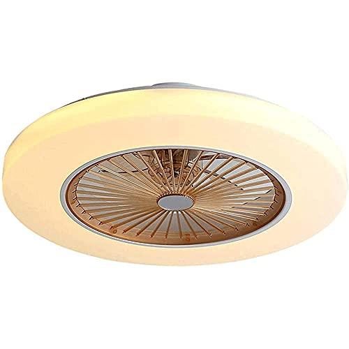 WXH-00 Lámpara Techo Ventilador Techo Moderno lámpara Control Invisible Invisible Regulable Regulable Velocidad Viento araña Ventilador Sala Estar Dormitorio Pasillo Pasillo [Energy Class A +]